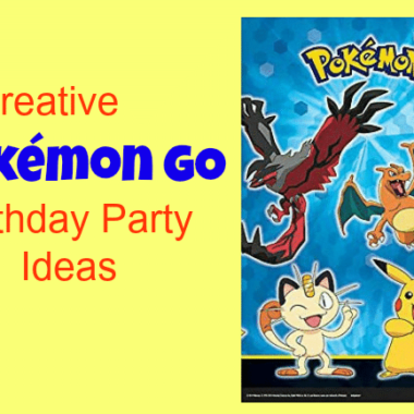 Creative Pokemon GO Birthday Party Ideas