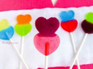 DIY Valentine Heart Lollipops