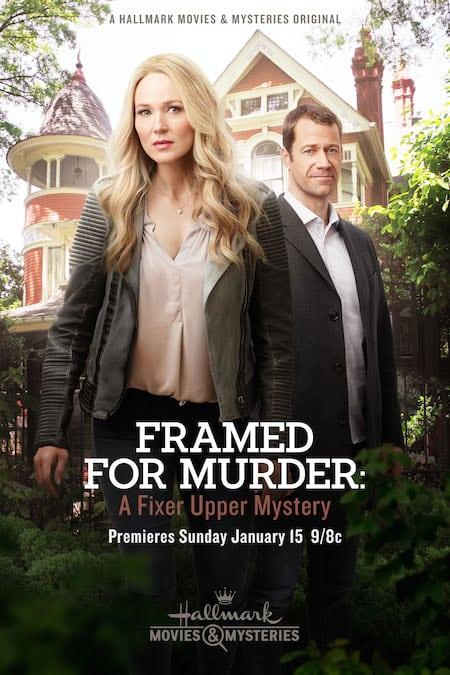 Hallmark Framed For Murder Poster
