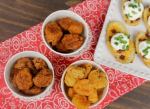 How To Throw A Game Day Party On A Budget + Homemade Potato Skins Recipe
