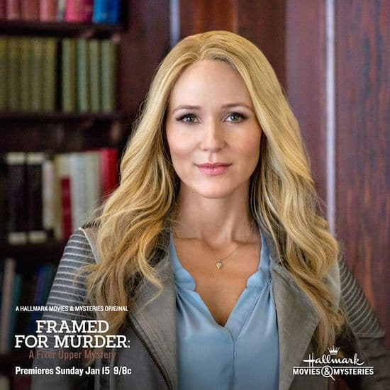 tune in to hallmark channel 39 s movies mysteries framed for murder a fixer upper mystery sunday. Black Bedroom Furniture Sets. Home Design Ideas
