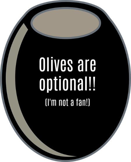 Optional Olives