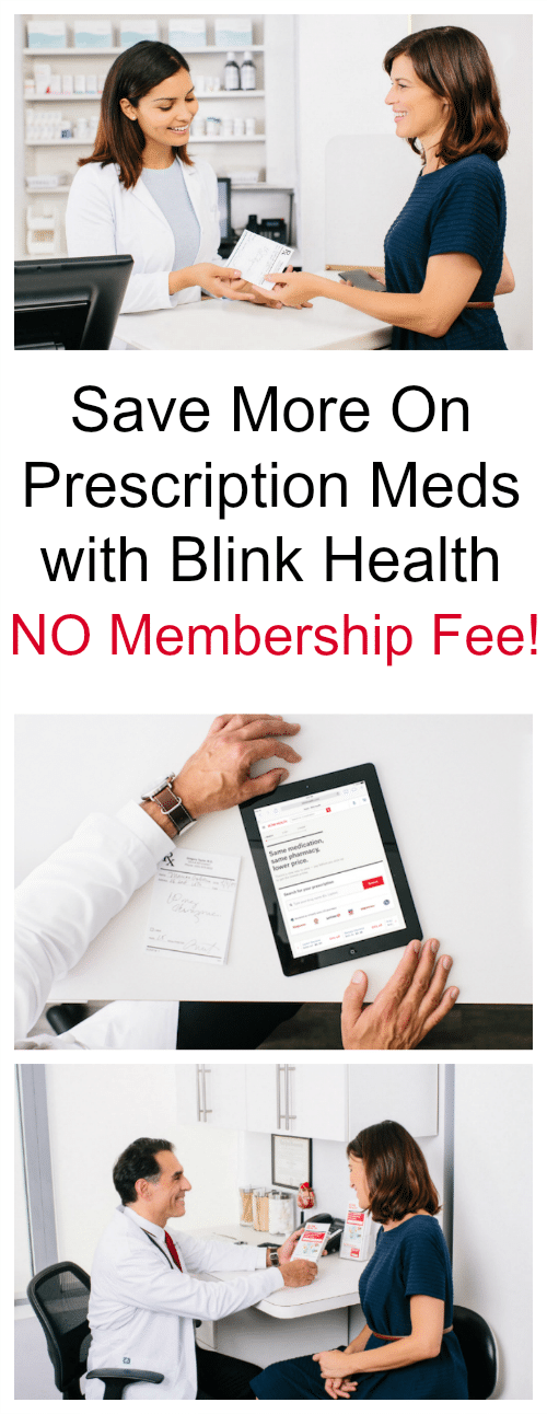 Save More On Prescription Meds with Blink Health.There's NO membership fee and no monthly subscription. Just pay for your prescriptions online and then pick up at your local neighborhood pharmacy.
