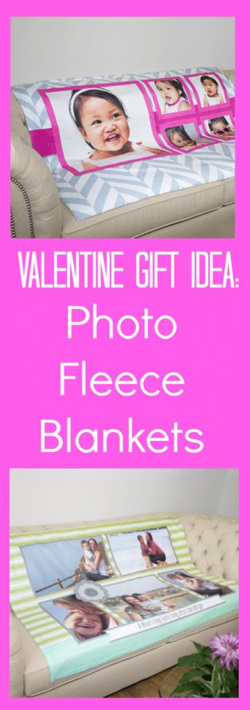 Valentine Gift Idea - Photo Fleece Blankets