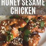 Pressure Cooker Honey Sesame Chicken