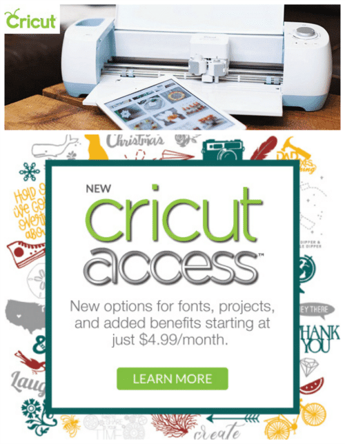 Cricut Access Premium and Access Fonts: Two NEW Cricut Products!