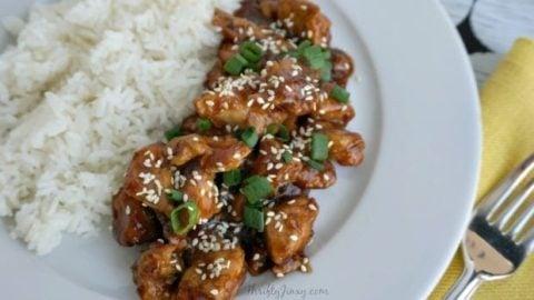 Easy-Pressure-Cooker-Recipes-Honey-Sesame-Chicken