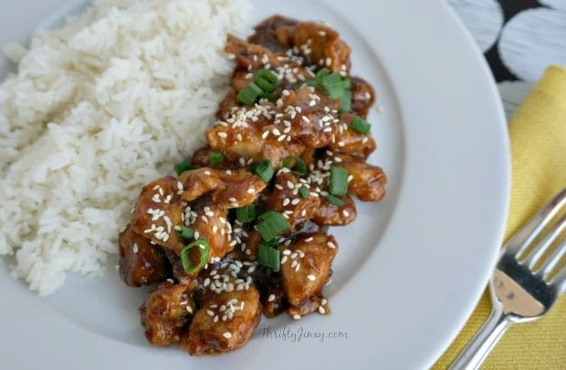 Easy-Pressure-Cooker-Recipes-Honey-Sesame-Chicken