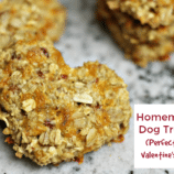 Homemade Dog Treats Recipe Perfect for Valentine's Day + Doggy Gift Ideas!