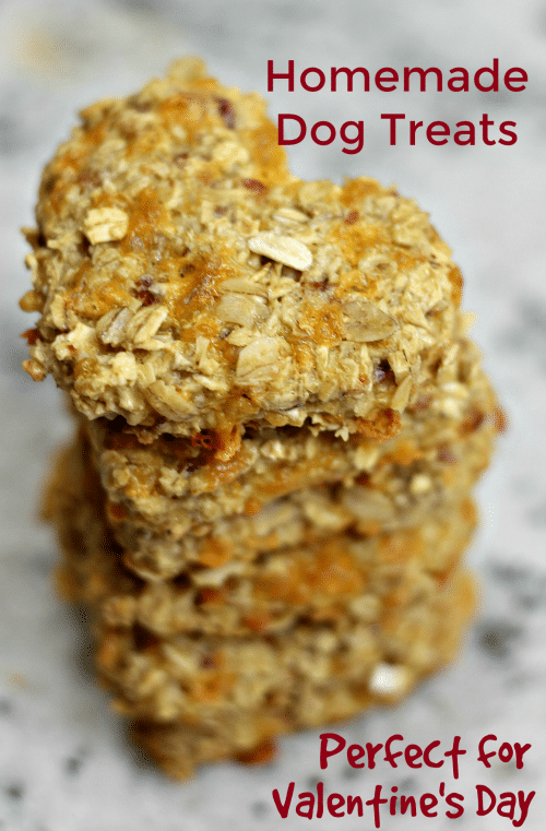 Homemade Dog Treats Recipe Perfect For Valentine S Day Doggy Gift