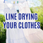 Line Drying Clothes