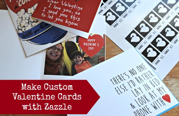 Make Custom Valentine Cards with Zazzle Thrifty Jinxy – Custom Valentines Card
