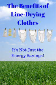 The Benefits of Line-Drying Clothes – It's Not Just the Energy Savings!