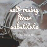 self-rising flour substitute