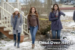 "Tune-in to Hallmark Movies & Mysteries ""Dead Over Heels: An Aurora Teagarden Mystery"" this Sunday, March 19th at 9pm/8c! #SLEUTHERS"