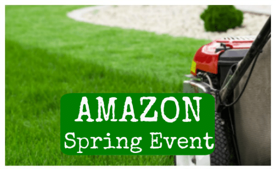 Amazon Spring Sale Event with Top Lawn and Garden Brands