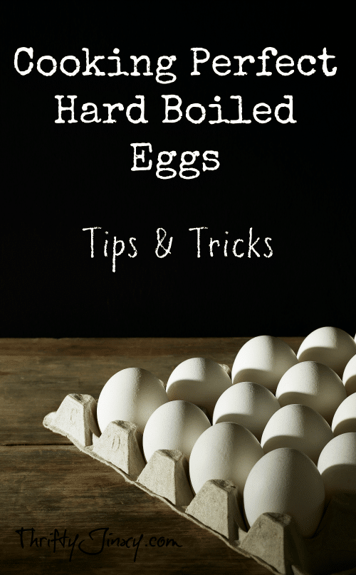 Cooking Perfect Hard Boiled Eggs: Tips and Tricks - Use these easy tips and tricks for Cooking Perfect Hard Boiled Eggs and you will end up with perfect results every time!