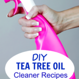 DIY Tea Tree Oil Cleaner Recipes