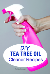 DIY Tea Tree Oil Cleaner Recipes