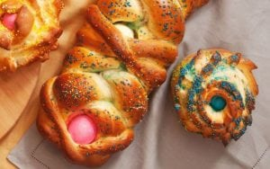 Colored Easter Egg Bread Recipe – An Italian Holiday Tradition