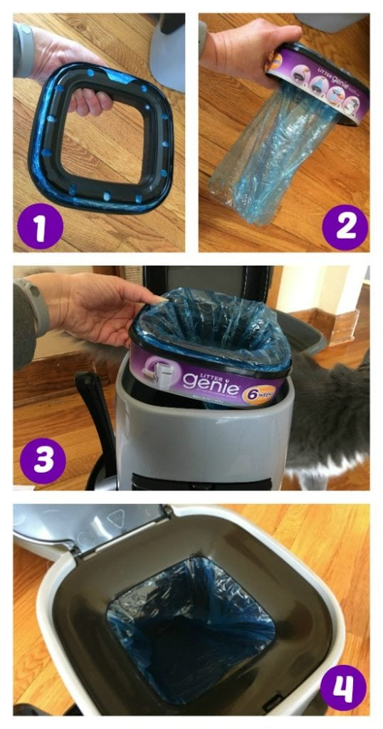 Lock Away Cat Odors with the Litter Genie Cat Litter Disposal System