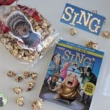 Plan a SING Family Movie Night with Ash Chocolate Popcorn Recipe + Giveaway!