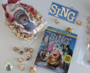 Plan a SING Family Movie Night with Ash Chocolate Popcorn Recipe