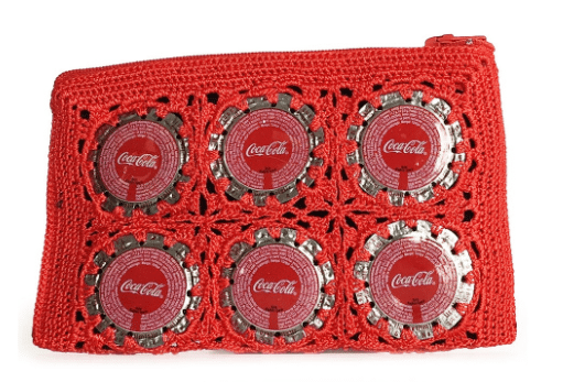 Coca-Cola Cop Madam Bottle Cap Purse