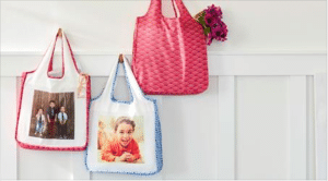 FREE Customized Reusable Shopping Bag with Your Own Photos!