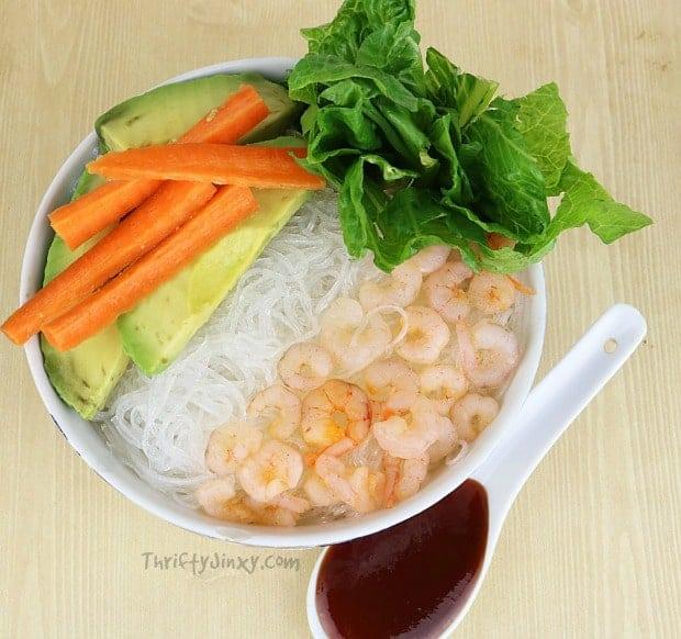 Shrimp Spring Bowl
