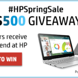 Great HP Deals and a #HPSpringSale $500 Giveaway