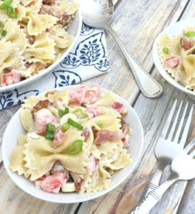 Bacon Bowtie Pasta Salad Recipe – Get Ready for Summer BBQs!