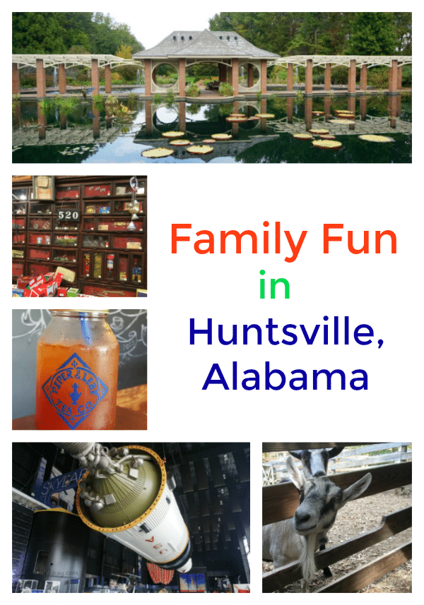 Family Fun in Huntsville Alabama - A travel destination for all generations!