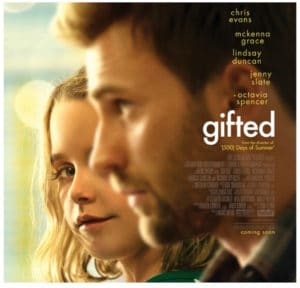 GIFTED in Theaters April 7 + Movie Prize Pack Giveaway