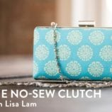 DIY No-Sew Clutch Tutorial – They're So Cute!