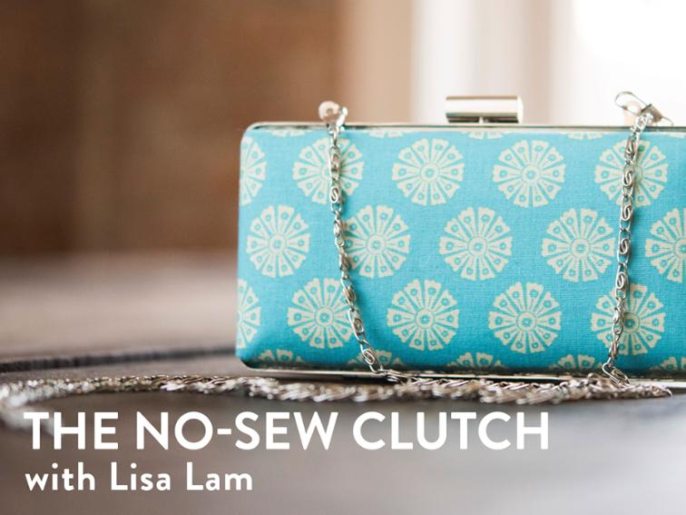 How Adorable Is This Clutch You Can Create Your Own Chic Compact Minaudière Clutchcreate No Sewing Required