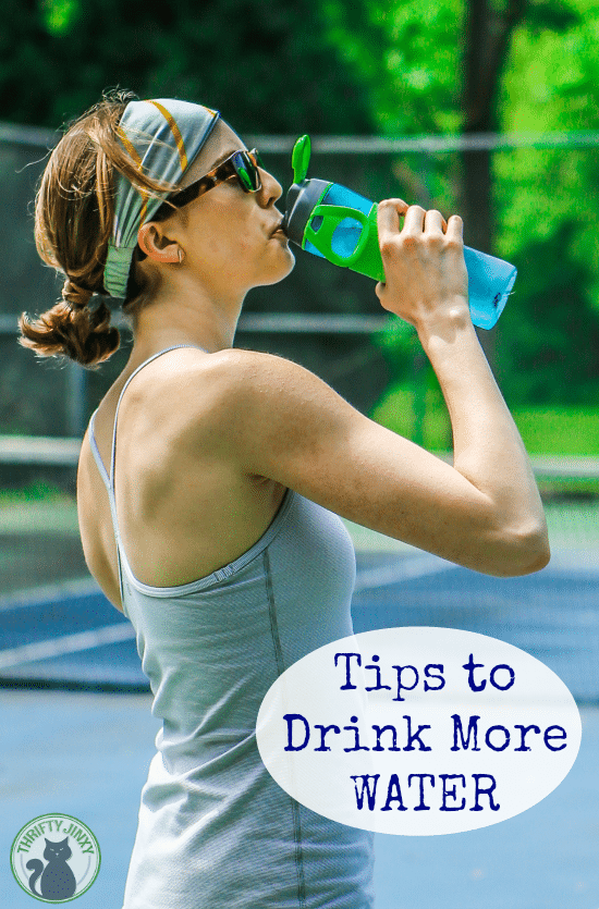 Tips to Drink More Water - Improve your health by drinking at least 64 ounces of water per day. These helpful tips will help make it easy!