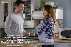 "Tune-in to Hallmark Movies & Mysteries ""A Bundle of Trouble: An Aurora Teagarden Mystery"" this Sunday, May 21st at 9pm/8c! #SLEUTHERS"