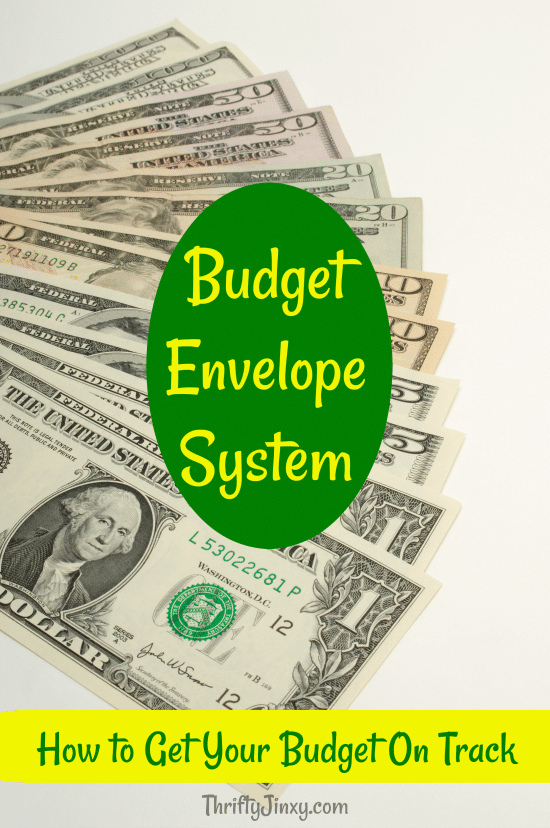 This simple Budget Envelope System will help you manage your money and get your budget on track.