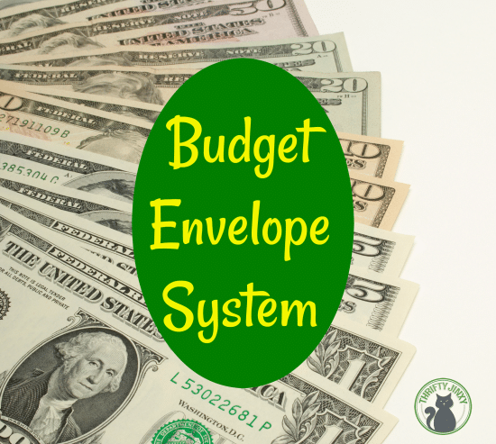 budget envelope system how to get your budget on track thrifty jinxy