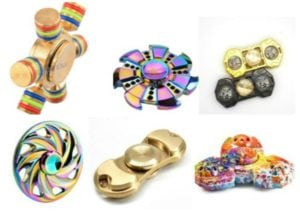Unique Fidget Spinners – Go Beyond the Basics with these Fun Designs