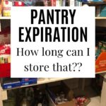 Pantry Expiration Date Guidelines