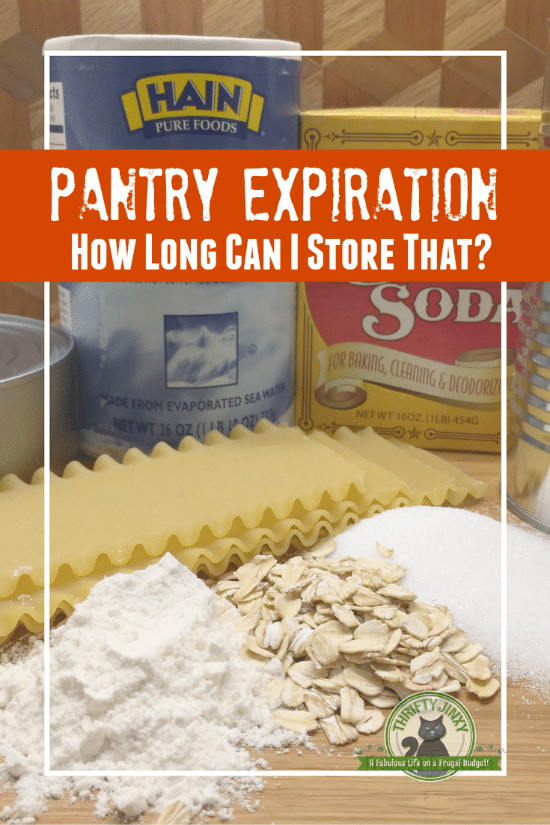 These Pantry Expiration Dates guidelines will help you know how long you can actually store the staples in your kitchen and how to make them last longer.