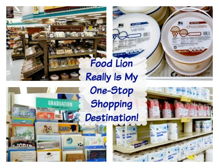 Food Lion Helps Me Save More And Makes Mealtime Easier one stop shopping