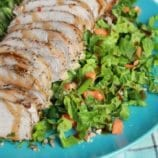 Easy Pork Tenderloin Recipe with Asian Slaw