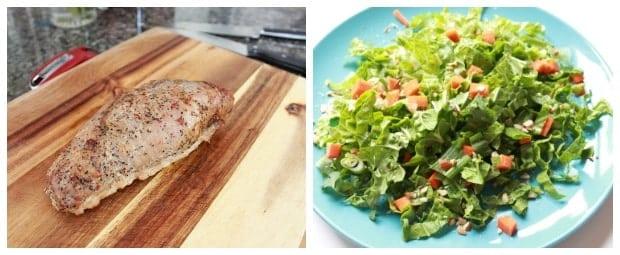 Easy Pork Tenderloin Recipe with Asian Slaw Process