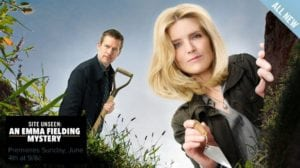 "Tune-in to Hallmark Movies & Mysteries ""Site Unseen: An Emma Fielding Mystery"" this Sunday, June 4th at 9pm/8c! #SLEUTHERS"
