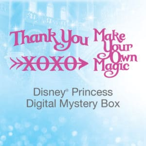 Cricut Disney Princess Digital Mystery Box!