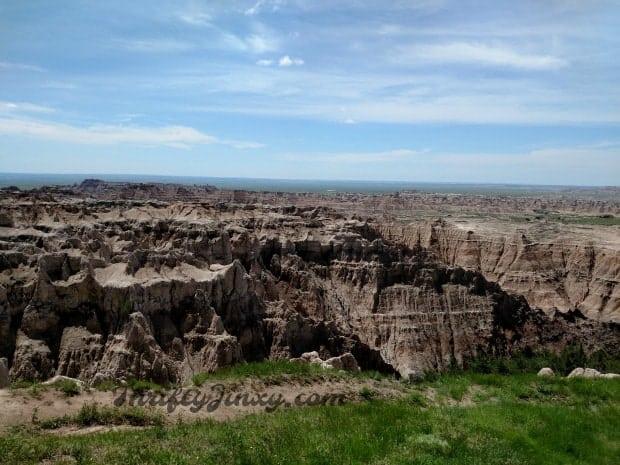 Badlands Landscape South Dakota