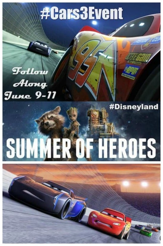 Follow along as I attend the Disney Pixar Cars 3 Red Carpet Premiere at Disneyland on June 10. I'll be interviewing lots of the cast including Owen Wilson, Kerry Washington, Cristela Alonzo, Nathan Fillion, Larry the Cable Guy, Lea DeLaria and more. It's going to be amazing!